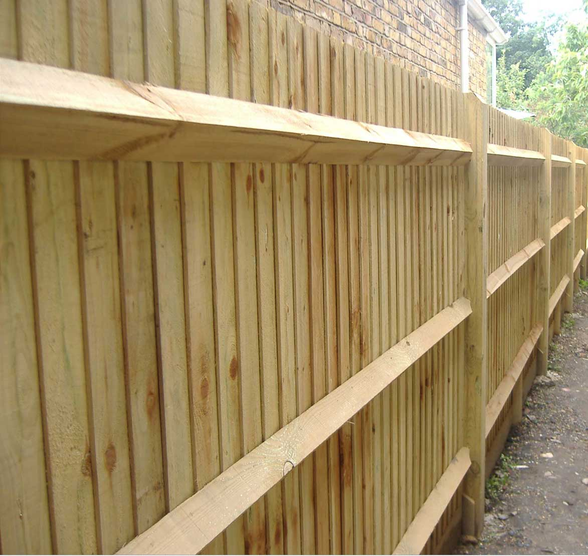 Fence types d e p fencing and landscaping in skegness for Types of fences