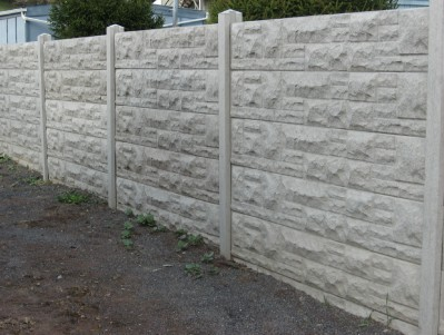 Fence types d e p fencing and landscaping in skegness - Decorative precast concrete wall panels ...