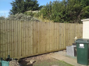 featheredge fencing anderby