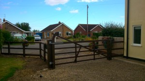 5 Bar Gate mablethorpe, Skegness Garden Gate