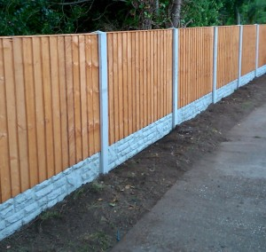 Alford fencing chapel st leonards landscaping