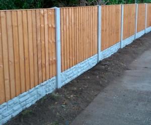 Alford fencing chapel st leonards landscaping